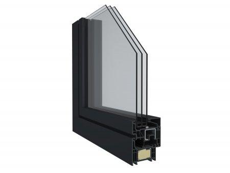 Profilový systém Elegant s použitím technológie ThermoFibra